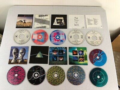Lots of 11 Pink Floyd CDs - The Wall - Echoes - Collection - and more