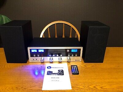 CD Bluetooth Stereo System Home Speaker CD Player FM Radio Aux Tested ITCDS-5000