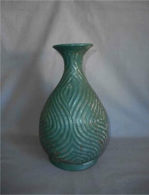 Antique Persian TOP QUALITY POST SASSANIAN TO ISLAMIC TURQUOISE GLAZE VASE