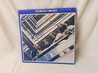 The Beatles - 1967-1970 Blue Apple SKBO 3404 LP Vinyl Record Double Album