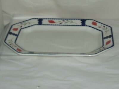 """LANCASTER  by ADAMS CHINA Ironstone 12"""" OVAL SERVING PLATTER England"""