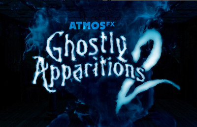 NEW Halloween Ghostly Apparitions 2 👻 AtmosFx Projection Digital Download 2019