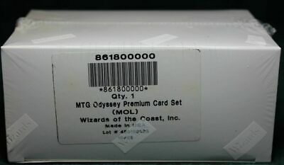 MTG Magic The Gathering ODYSSEY FULL FOIL COMPLETE Set Factory Sealed MOL NEW