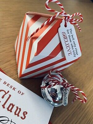 The Polar Express Bell Christmas Believe Personalised Letter From Santa