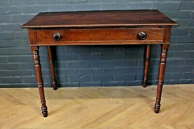 Antique Victorian Mahogany Side Table Hall Table Console Table