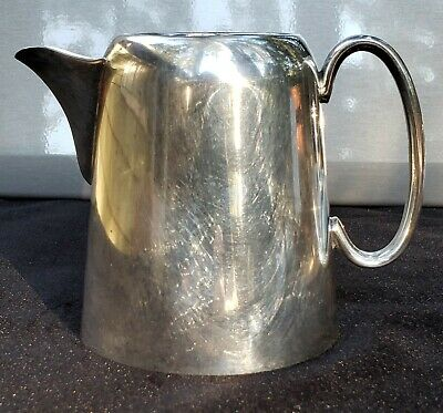 Warranted Silver Soldered Creamer Pitcher Jug