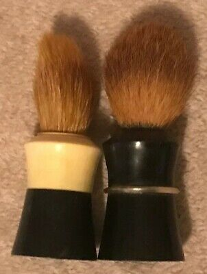 Lot of 2 Vintage Ever-Ready Shaving Brushes - Made In USA