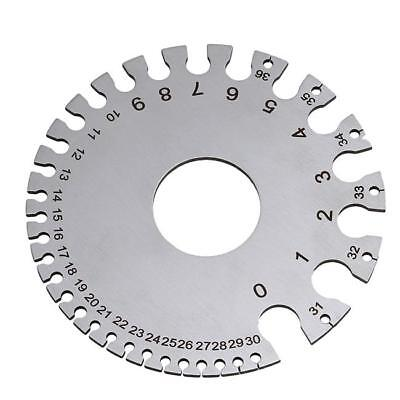 Wire Gauge Thickness Measuring Tool Wire Sheet Metal Gage Measurement Plate LJ