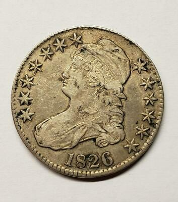 1826 Capped Bust Half Dollar – Solid XF