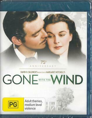 Gone With The Wind - Clark Gable & Vivien Leigh - Blu-Ray - Free Local Post