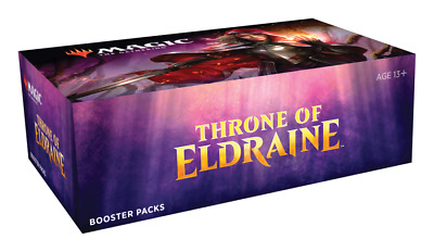 MTG THRONE OF ELDRAINE Factory Sealed Booster Box 36 packs NEW Fast Free Ship