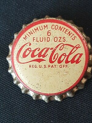 USA 1930,s Coca Cola Crown Seal Bottle Cap Unused Cork