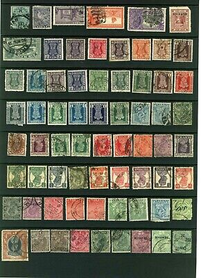 India selection differents years in good condition , general postal used