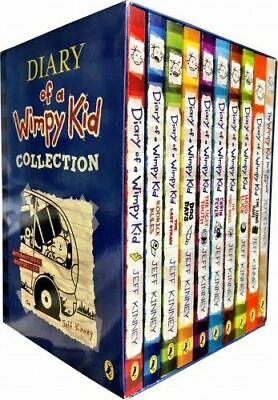 Diary of a Wimpy Kid 10 Books Boxed Set Collection Blue PRE ORDER 17th NOV