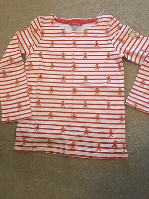 JOULES Girls Top Christmas Age 6 NEW