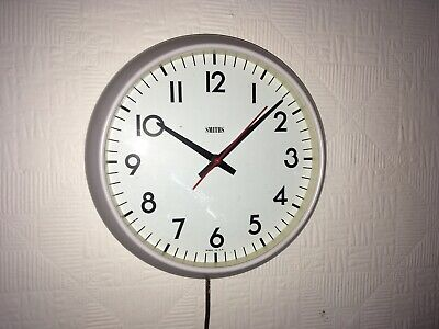Vintage Smiths Astral Wall Clock Sweeping Second Hand