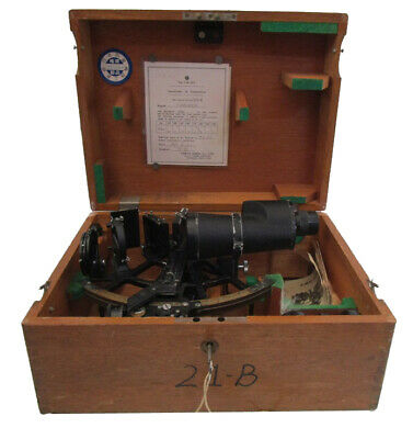 TAMAYA Marine Sextant - No. 23448 - Made in JAPAN - 100% ORIGINAL (410)