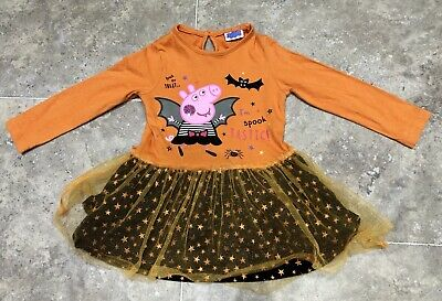 Peppa Pig Halloween Dress 18-24m
