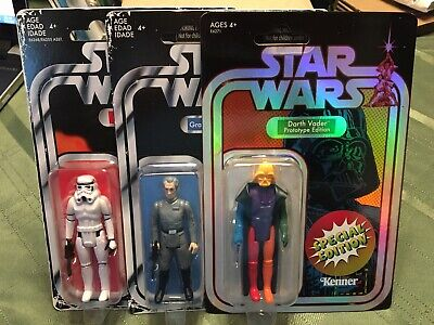 Hasbro Kenner Star Wars Retro Collection Action Figures SDCC Darth Vader!