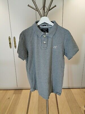 Sacoor Brothers Men's Grey Slim Fit Polo Shirt (Size XL)