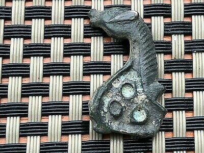 Ancient Roman Bronze Figure Or Brooch Of Dragonfly Circa 100-200 Ad Very Rare