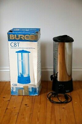 C8T Burco Water Boiler Tea Urn 8ltr 50 cups Variable Thermostat 2Kw