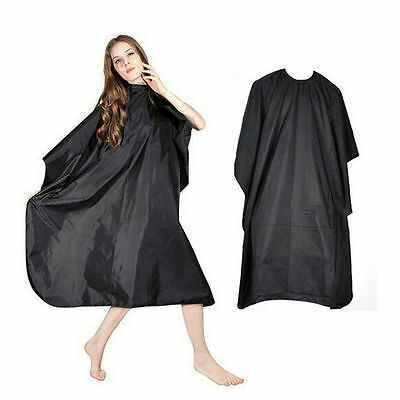 Waterproof Salon Hair Cut Hairdressing Hairdresser Barbers Cape Gown Cloth New