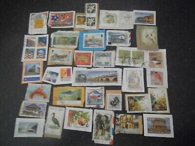 Lot 36) Collection Mixture Bulk Lot of World stamps on paper at a low price