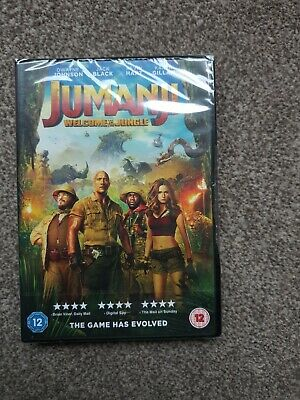 Jumanji: Welcome To The Jungle [DVD] [2017] new and sealed