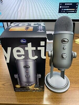 Blue Yeti Microphone - USB Great Condition