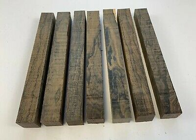 """LOT OF 5 5 COCOBOLA PEN BLANKS WOOD TURNING SQUARE   3//4/"""" X 3//4/"""" X 5/"""""""