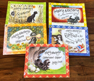Hairy Maclary Dog And Friends  Children's 5 Book Bundle Lynley Dodd