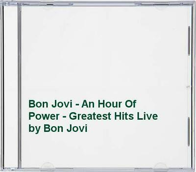 Bon Jovi - Bon Jovi - An Hour Of Power - Greatest Hits Live - Bon Jovi CD X2VG