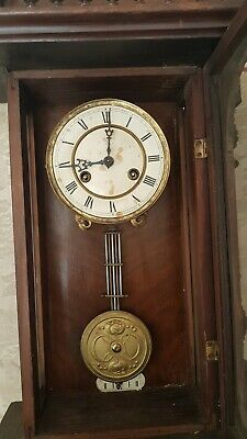 antique junghans Vienna wall  clock
