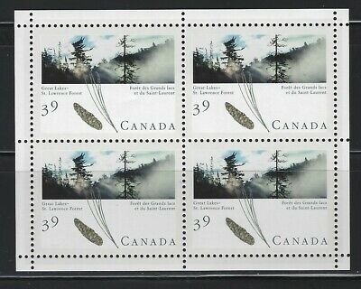 CANADA - #1284a - 39c MAJESTIC FOREST OF CANADA - GREAT LAKES PANE & ENVELOPPE