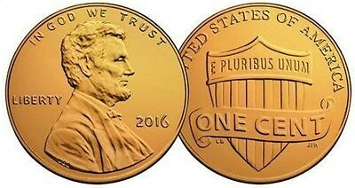 USA Gold Cent Coin President Lincoln Unusual Unknown New York White House Retro