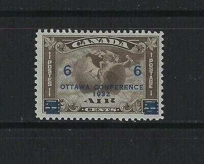 CANADA - #C4 - 6c on 5c AIRMAIL SURCHARGE MINT STAMP (1932) MH