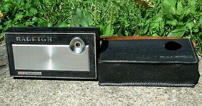 VTG RALEIGH 12 Transistor Radio Raleigh Electronics Corp. For Parts Or Repair