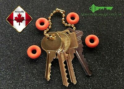 High quality Basic depth key set of 4 keys with 4 super soft  Bump rings