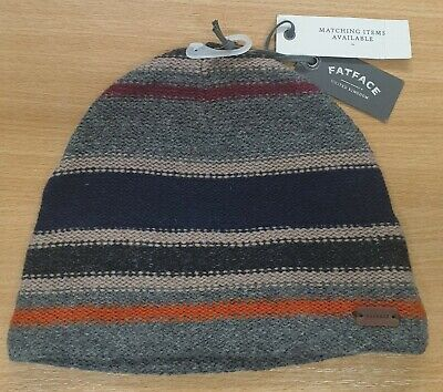 Fat Face Mens Calgary Beanie Hat Winter Clothing Brand New With Tags