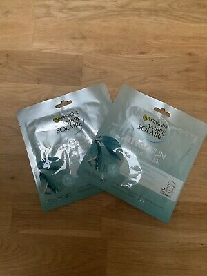 Ambre Solaire After Sun Tissue Face Mask X 2