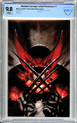Absolute Carnage: Lethal Protectors #1 Comics Elite Virgin Variant - CBCS 9.8!
