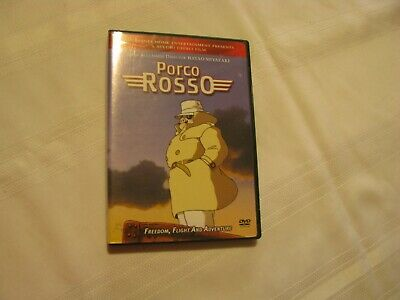 Studio Ghibli Porco-Rosso 2 Disc DVD Set Hayao Miyazaki Lightly Used