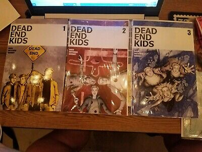Dead End Kids Set Run #1-3 Chris Madd Source Point Press RARE HTF Sold Out