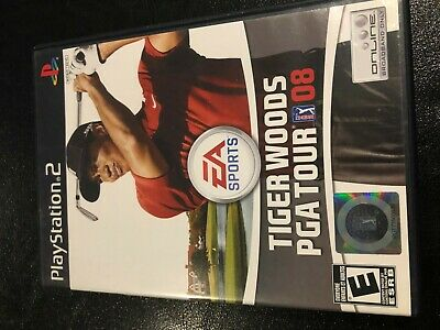 Tiger Woods PGA Tour 08 (Sony PlayStation 2, 2007) PS2