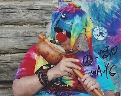 WAVY GRAVY Woodstock Icon signed autograph photo