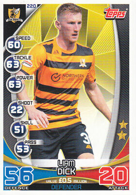 TOPPS MATCH ATTAX SPFL 2019-20 - Liam Dick - Alloa Athletic - # 220