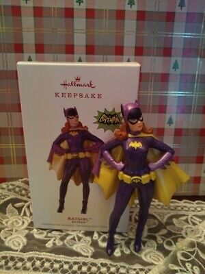 Hallmark Batgirl 2019 Limited Christmas Ornaments Batman Classic Tv Series