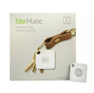 Tile Mate Bluetooth GPS Tracker Key, Phone, Anything Finder RT-05001 New Sealed