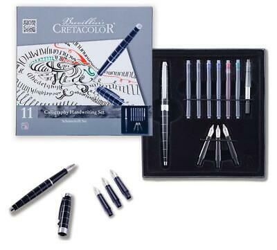Cretacolor Calligraphy / Handwriting Set 11pc